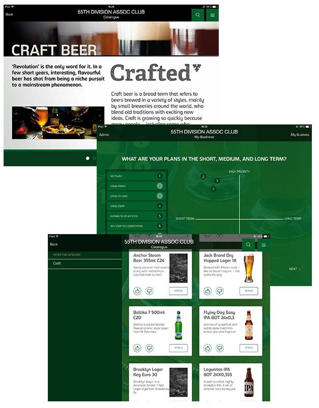Carlsberg portfolio image