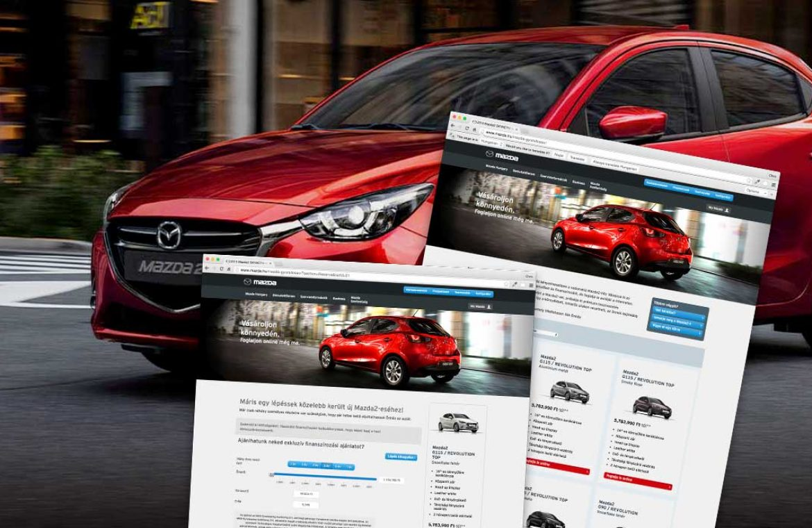 Header image for Mazda project