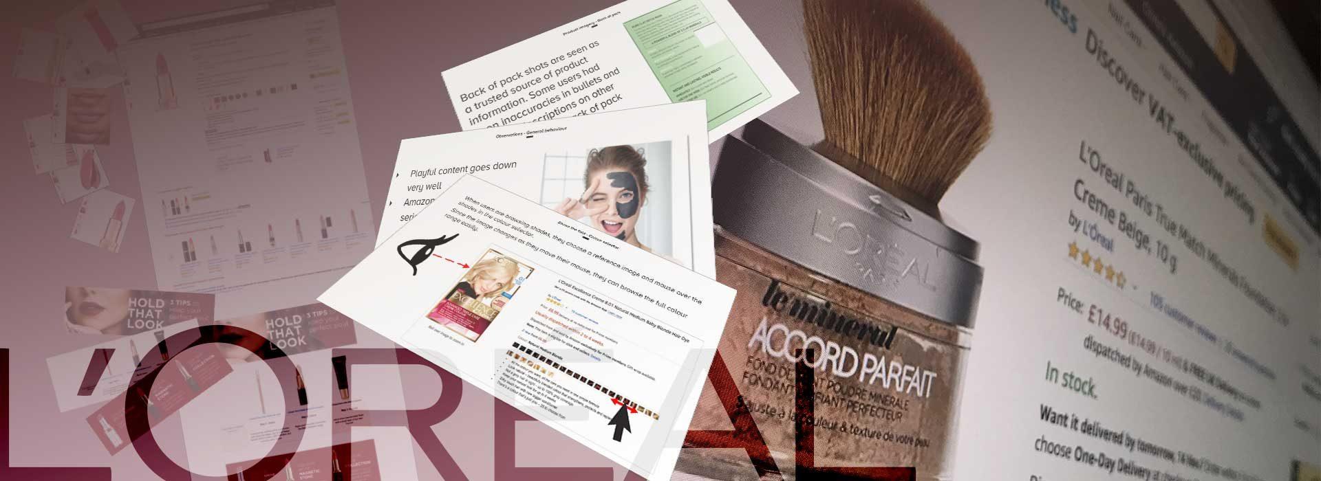 Header image for L'Oréal project