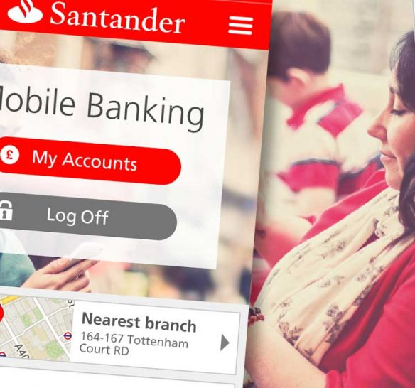 Santander project header illustration