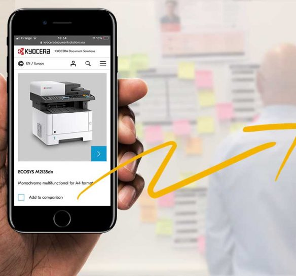 Kyocera project page header image